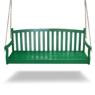 Outdoor Acacia Swing