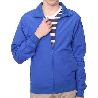 American Apparel Unisex Bright Royal Blue Slub Nylon Windbreaker