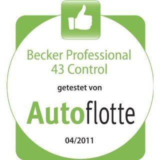 Becker Professional 43 Control inkl. TMC Pro (10,9 cm Display, Europa