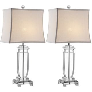 Indoor 1 light Olympia Crystal Table Lamps (Set of 2)