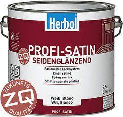 Herbol Profi Satin ZQ² 2,5l weiß Baumarkt