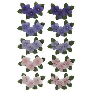 Martha Stewart Dimensional Stickers Hydrangea