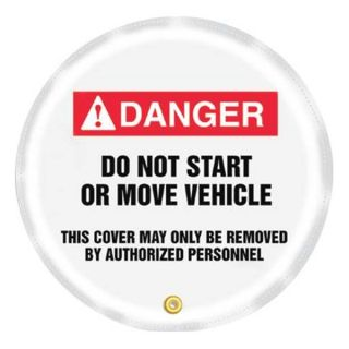 Accuform Signs KDD726 Danger Sign, 20 x 20In, R and BK/WHT, Vinyl