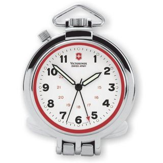 Swiss Army Pocket Desk Watch with Alarm