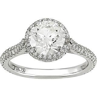 18k Gold 1 3/4ct TDW Diamond Engagement Ring (H I, I1 I2)