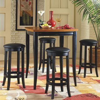 Newport 5 piece Table and Barstool Set