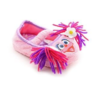 Sesame Street Girls Abby Cadabby Slippers Polyester Casual Shoes