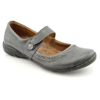 Hush Puppies Womens Gyneth Leather Casual Shoes Wide