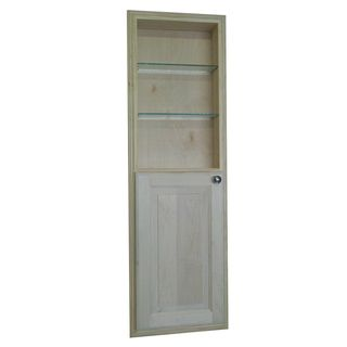 48 inch Recessed in the Wall Baldwin Medicine Storage Cabinet with 24