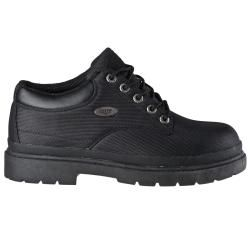 Lugz Mens Drifter Lo Ballistic Black Nylon Boots