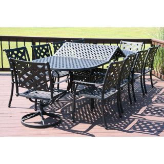 Melbourne 11 piece All Welded Patio Furniture Set
