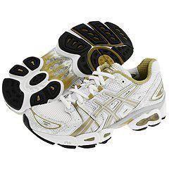 ASICS Gel Nimbus® 9 White/Metallic Gold/Lightning