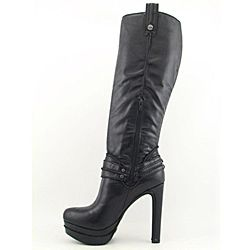 Jessica Simpson Womens Alisin Black Boots