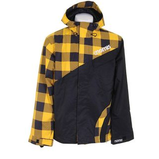 Nomis Touch Shell Mens Large Yellow Buffalo Snowboard Jacket