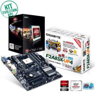 Kit Evo AMD APU A10 Gustnado   Contient  AMD A10 5800K Black Edition