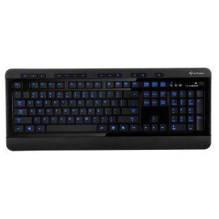 Sharkoon Nightwriter Gaming Tastatur schwarz Computer