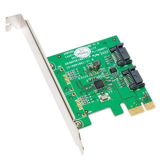 SYBA eSATA III 2 internal Port PCI e Controller Card