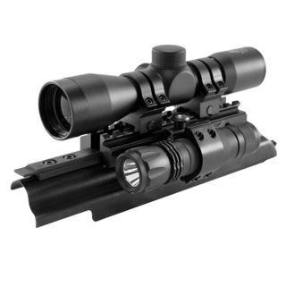 NCStar Sights N Lights AK 4x30mm Riflescope Combo (MTAK, SC430B, RB29