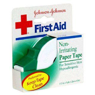 Johnson & Johnson Non Irritating Paper Tape, 1/2 Inch 1