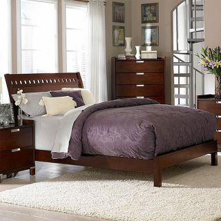 Noho Gallery Warm Cherry Eastern King size Bed