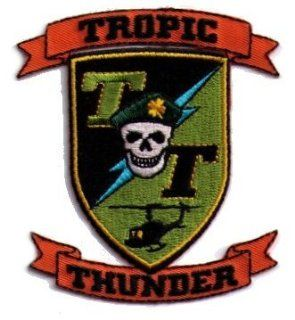 Tropic Thunder Logo Patch TP143 Toys & Games
