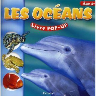 Livre pop up ; les oceans   Achat / Vente livre Collectif pas cher