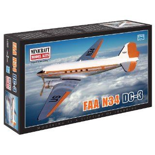 Minicraft Models FAA N 34/DC 3 1/144 Scale Toys & Games