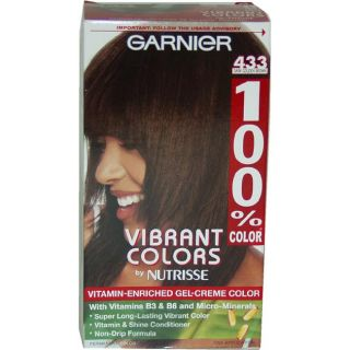 Garnier Nutrisse Dark Gold Brown #433 Gel Creme Hair Color