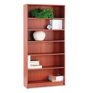 HON 1870 Series 72 inch Laminate Bookcase   Cherry