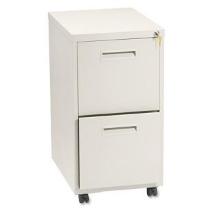 HON 1600 Series 20 inch Deep 2 drawer Pedestal File Cabinet