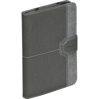 Targus THZ168US Carrying Case (Folio) for 7 Tablet PC   Charcoal Gra