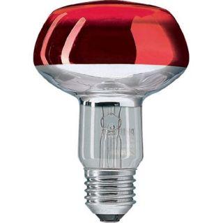 Ampoule E27 NR80 60w 230 volts Rouge   Achat / Vente AMPOULE   LED
