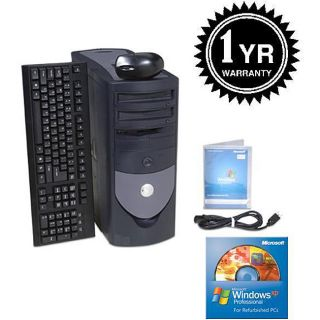 Dell 2.6GHz 512MB 80GB Tower Computer (Refurbished)