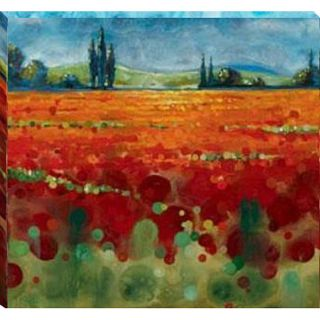 Selina Werbelow Spring Meadows II Canvas Art