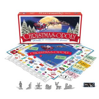 Late For The Sky Christmas opoly Board Game