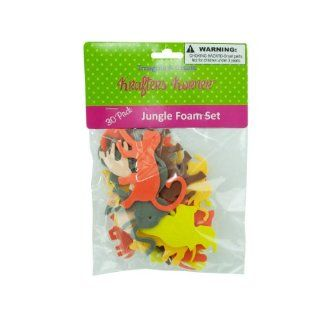 Craft Foam Jungle Animals   Case of 144: Everything Else