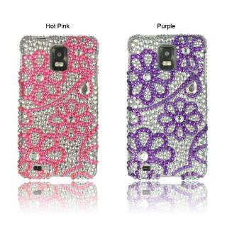 Luxmo butterfly snap on protector case for samsung freeform iii r380
