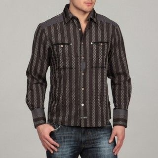 English Laundry Mens Rawtenstall Woven Shirt