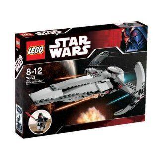LEGO Star Wars 7663   Sith Infiltrator Spielzeug