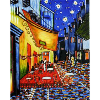 Van Gogh Cafe Terrace at Night Wall Tile