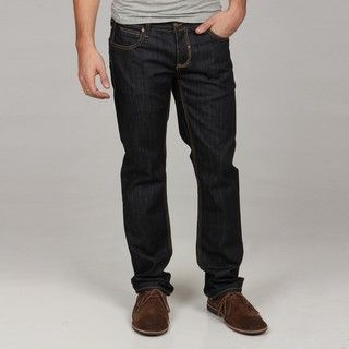 Seven7 Mens Rinse Straight Leg Jeans