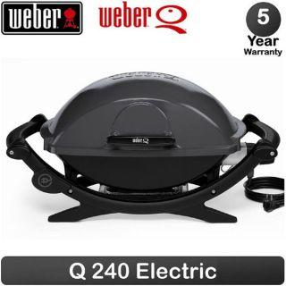 Barbecue électrique Q 240 Gris anthracite   Achat / Vente BARBECUE
