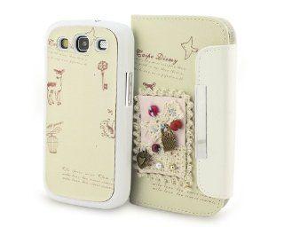 3D Handarbeit Case Hülle Tasche Hard Cover F Samsung Galaxy S3 SIII S