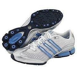 Adidas Jhana Mesh/Synthetic White/Metallic Silver/Rave Blue