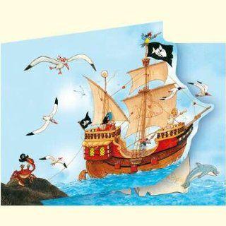 20110   Die Spiegelburg   Captn Sharky Einladungskarten