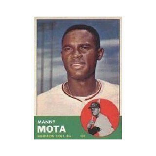 1963 Topps #141 Manny Mota RC Collectibles