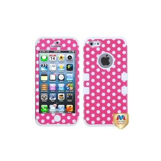 MYBAT Rubber Impact TUFF Hybrid Case Skin Cover for Apple® iPhone 5
