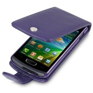 SAMSUNG S8600 WAVE 3 HANDY LEDER TASCHE CASE HÜLLE IN