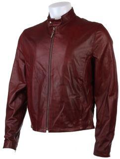Just Cavalli Mens Burgundy Jacket