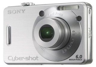 Sony Cyber shot DSC W50 Digitalkamera silber Kamera & Foto